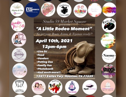 Studio 59 Market Square: A Little Rodeo Moment, April 10