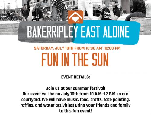 BakerRipley East Aldine: Fun in the Sun, July 10