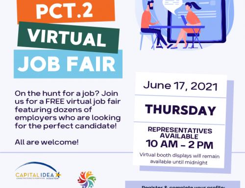 Precinct 2: Virtual Job Fair, June 17