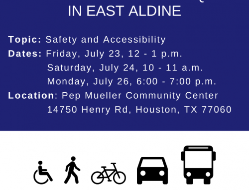 Community Pop-Up Event: Transportation and Equity in East Aldine