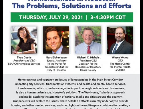 How is Houston Handling Homelessness? Hear from the Experts and Have Your Questions Answered!
