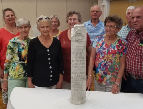 East Aldine's old gravestone mystery has been solved! Partly.