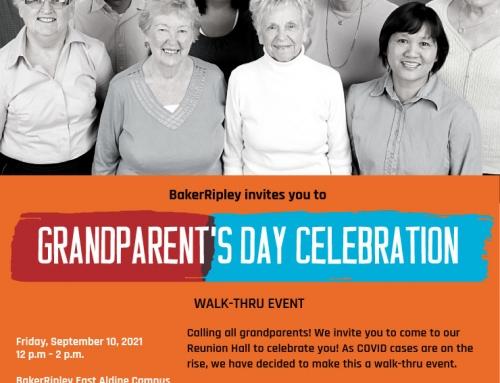 Grandparent's Day Celebration, Sept. 10