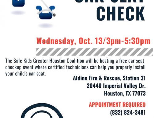 Free Car Seat Check, Oct. 13